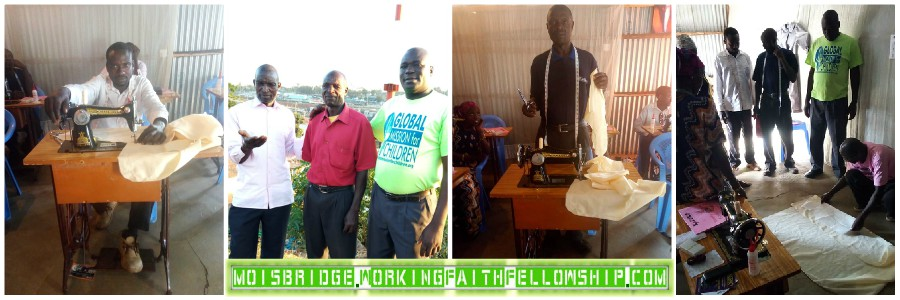 January 2019 Kibera Slum Tailoring Dressmaking Training Moi's Bridge CrewJanuary 2019 Kibera Slum Tailoring Dressmaking Training Moi's Bridge Crew