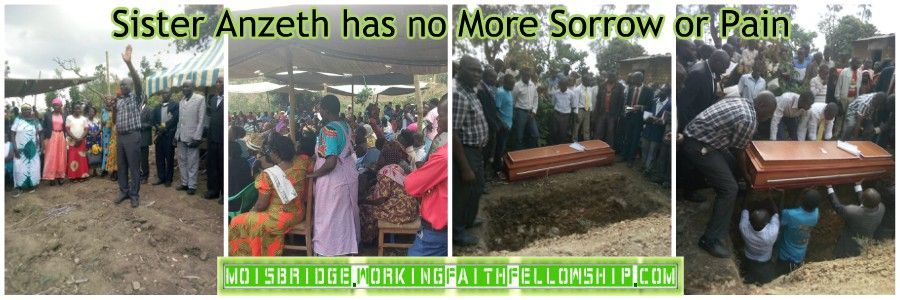 sister anzeth funeral no more pain