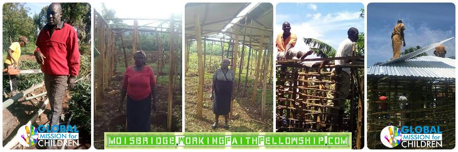 Uganda Widows Home Build Update Banner 5-6-2021
