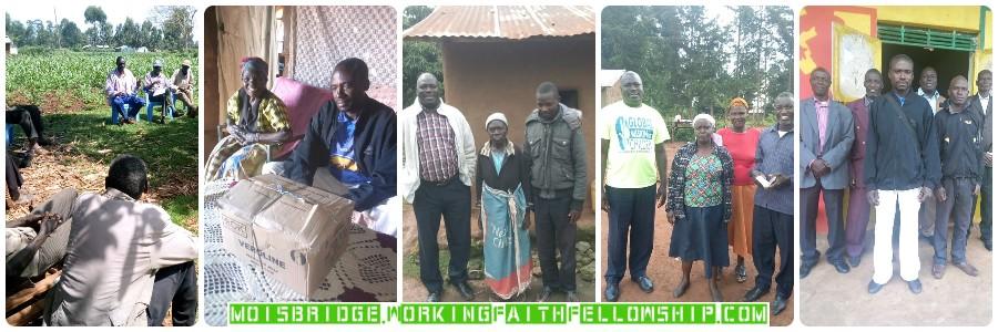 Moi's Bridge Kenya Uganda Jesus Christians Sponsor a Child Banner